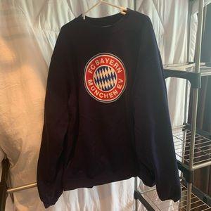 FC Bayern Adidas Crew Sweater